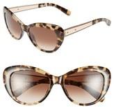 Bobbi Brown Women's 54Mm Cat Eye Sunglasses - Burgundy
