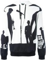 Dolce & Gabbana jazz musicians print hoodie