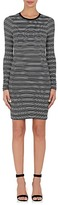 ATM Anthony Thomas Melillo Women's Striped Soft Jersey Long-Sleeve T-Shirt Dress