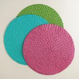 Round Polybraid Placemats Set of 4