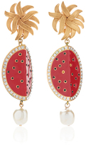 Dolce & Gabbana Watermelon Earrings