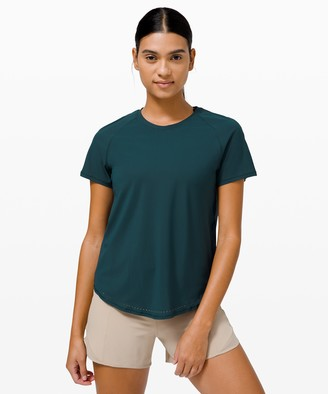 Lululemon Rise and Run Short Sleeve