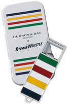 Hudson'S Bay Company Steam Whistle Bottle Opener and Tin