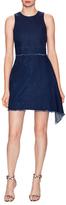Nicholas Denim Asymmetrical Fit And Flare Dress