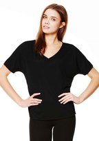 B.ella + Canvas Women'S Slouchy V-Neck Tee (XL)