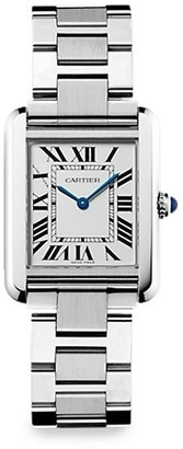 Cartier Tank Solo Small Stainless Steel Bracelet Watch