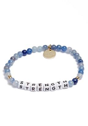 Strength Beaded Stretch Bracelet