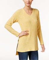 Style&Co. Style & Co. Ribbed High-Low Tunic, Only at Macy's
