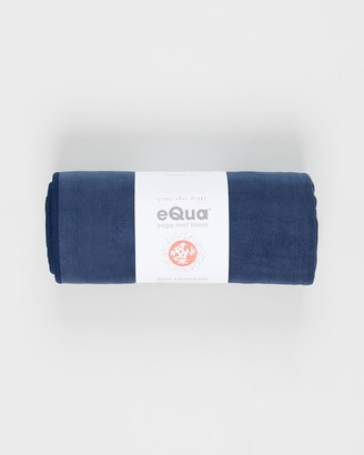 Manduka Blue Yoga Accessories - eQua Mat Towel - Size One Size at The Iconic