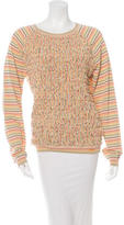 Chloé Striped Ruched Sweater w/ Tags