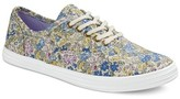 Mossimo Women's Lunea Patterned Canvas Sneakers