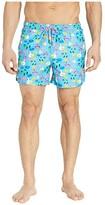 Happy Socks Pool Party Swim Shorts (Light Blue) Men's Swimwear