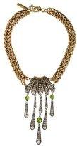 Oscar de la Renta Crystal & Resin Collar Necklace