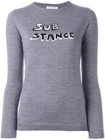 Bella Freud 'Substance' intarsia jumper