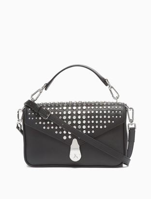 Calvin Klein Lock Leather Small Crossbody Bag