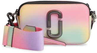 Marc Jacobs The Snapshot Airbrushed Leather Crossbody Bag
