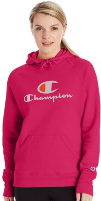 Champion Women's Powerblend Graphic Fleece Hoodie