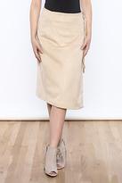 Lucy Paris Clara Suede Skirt