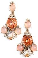 Oscar de la Renta Women's Crystal Chandelier Earrings