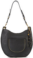The Sak Zinnia Tasseled Studded Hobo Bag