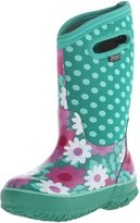 Bogs Classic High Flower Dot Waterproof Winter and Rain Boot (Infant/Toddler/Little Kid/Big Kid)