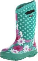 Bogs Classic High Flower Dot Waterproof Winter and Rain Boot (Infant/Toddler/Little Kid/Big Kid)