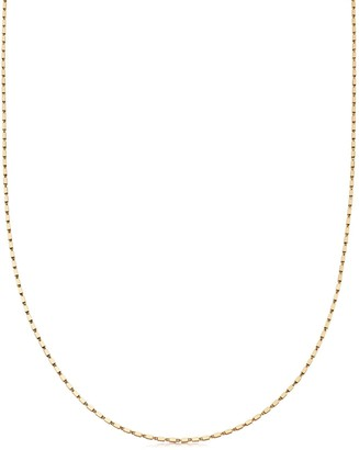 Missoma Gold Long Box Link Chain Necklace