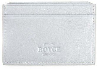 Royce New York RFID-Blocking Leather Card Case