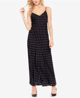 Vince Camuto Printed Maxi Slip Dress