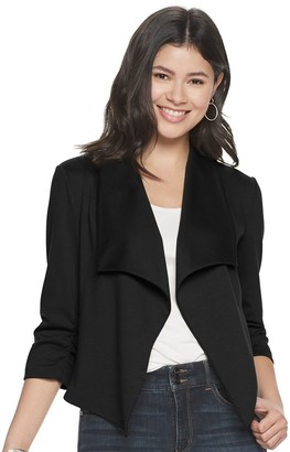 Candies Juniors' Candie's Fly Away Ponte Blazer