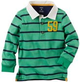 Carter's Baby Boy Striped Rugby Tee