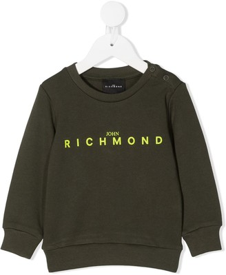 John Richmond Junior Graphic-Print Crew Neck Sweatshirt
