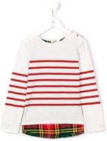 Junior Gaultier striped top