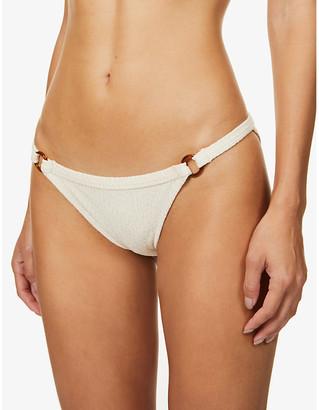 LOVE Stories Wild Rose mid-rise bikini bottoms