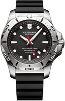 Victorinox Men's Swiss I.N.O.X. Professional Diver Black Rubber Strap Watch 45mm 241733.1