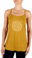 Gaiam Sienna Overlapping Circles Screen Print Tank Top