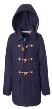 Perry Ellis Little Boys Duffle Americana Trim Coat