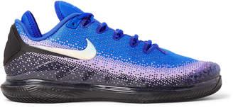 Nike Tennis Nikecourt Air Zoom Vapor X Rubber-Trimmed Stretch-Knit Tennis Sneakers