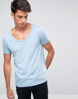 Asos T-Shirt With Wide Scoop Neck
