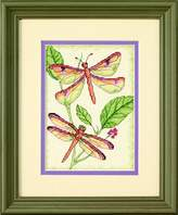 Dimensions Counted Cross Stitch Kit Dragonfly Duo