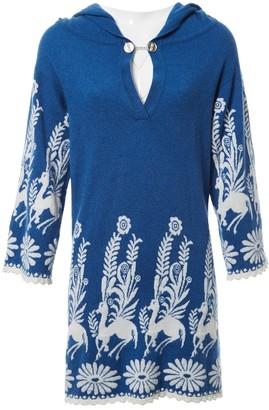 Barrie Blue Cashmere Dresses