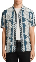 AllSaints Ananas Slim Fit Button-Down Shirt