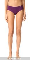Calvin Klein Underwear Solid Invisibles Hipster Briefs