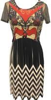 Vivienne Hu - Pekin Mini Dress With Pattern Top
