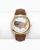 Charming charlie Fly Over USA Watch