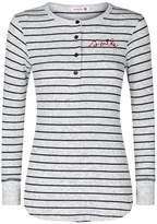 Sundry Long Sleeve Stripe Top