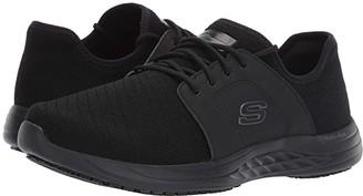 Skechers Toston Waterproof SR (Black) Men's Shoes