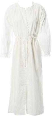 Vilshenko White Cotton Dresses