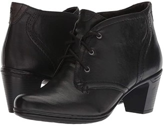 Cobb Hill Rashel Chukka (Black Leather) Women's Boots