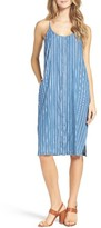 Knot Sisters Women's Apple Valley Stripe Midi Dress